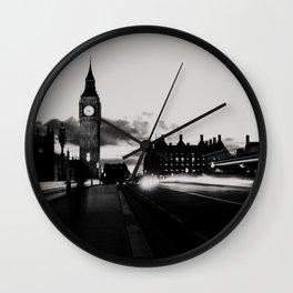London noir ...  Wall Clock