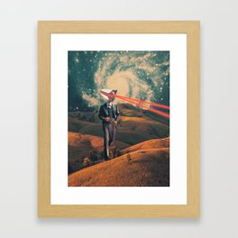 We are Watching You for Your Own Safety Framed Art Print
