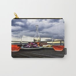 Rosé in the Storm Carry-All Pouch