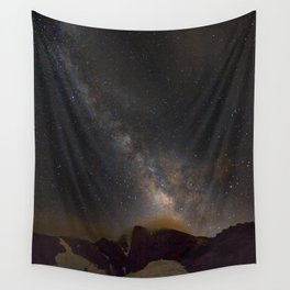 Milky way at 3400 meter hight. Scorpius and Sagitarius Wall Tapestry