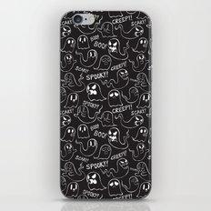 Ghosts in Black iPhone & iPod Skin