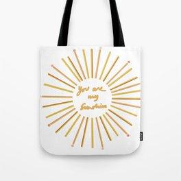 Sun sunshine  Tote Bag