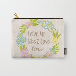 Illustration Of Love . Valentine's Day. Carry-All Pouch