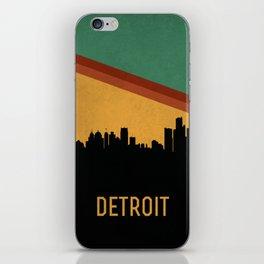 Detroit Skyline iPhone Skin