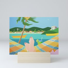 VACATION Mini Art Print