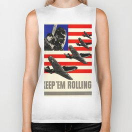 Keep'Em Rolling Biker Tank