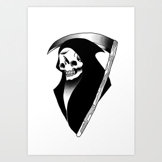 Night Reaper Art Print