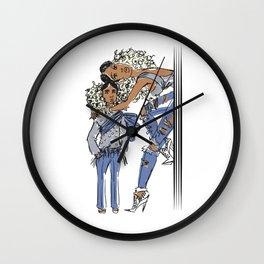 Mini & Me Wall Clock