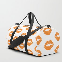 Orange LIps Duffle Bag