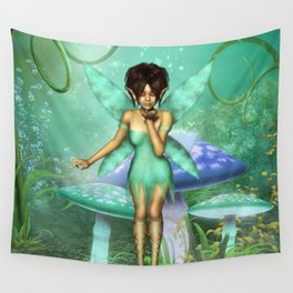 Fairy Wishes Wall Tapestry