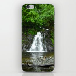 Rhaeadr Du, Black Waterfall iPhone Skin