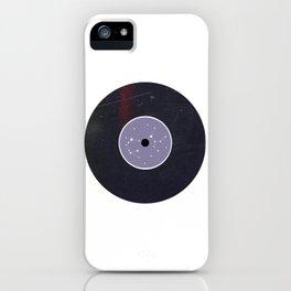 Vinyl Record Star Sign Art | Sagittarius iPhone Case
