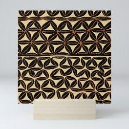 South Seas Tribal Tapa Mini Art Print