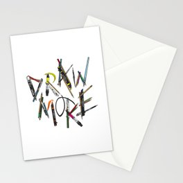 Draw More (Color) Stationery Cards