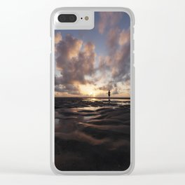 Watching the Sun Rise Clear iPhone Case