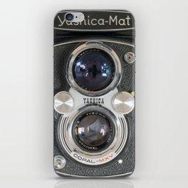Yashica-Mat twin lens reflex iPhone Skin