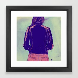Tough Framed Art Print