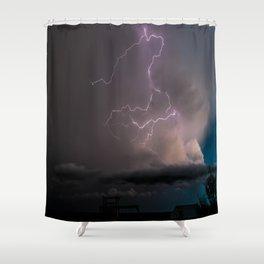 Spring Lightning Shower Curtain