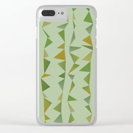 Musical Trees 1 Clear iPhone Case