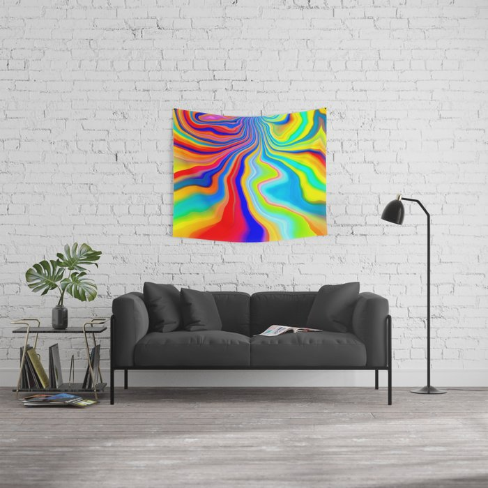 Alive 3 Wall Tapestry