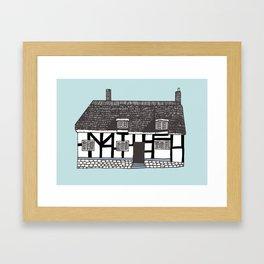 'Coventry' House print Framed Art Print