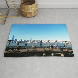 Piers | Hudson River | NYC Rug