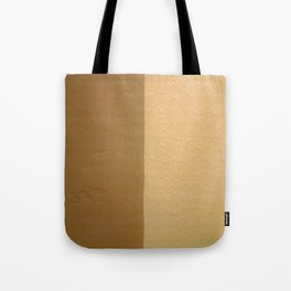 Imperfect Smooth VS Orange Peel Textures Minimalism Earth Tone Art - Corbin Henry Tote Bag