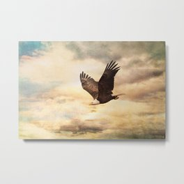 Early Evening Flight Metal Print