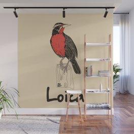 Loica Wall Mural