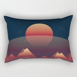 Burdens Rectangular Pillow