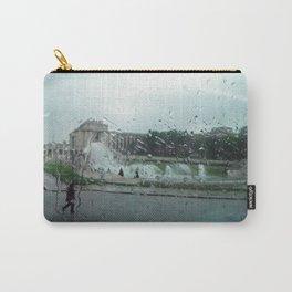 Paris à pluie Carry-All Pouch