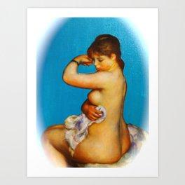 After the Bath 5 Art Print