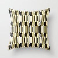 kilim Throw Pillows featuring kilim 01 by Ioana Luscov