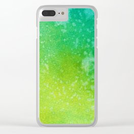 Abstract No. 107 Clear iPhone Case