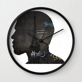 niggas in paris Wall Clock