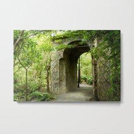 Elf Archway, New Zealand Metal Print