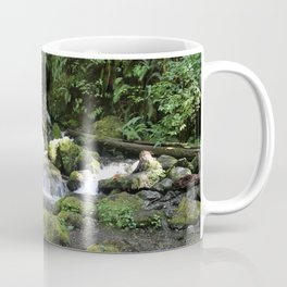 Moss Rocks in the Rainforest Coffee Mug