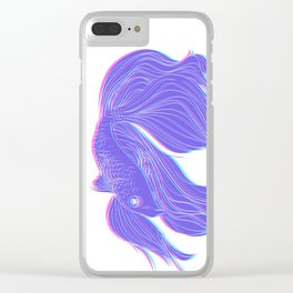 The Fighting Fish Clear iPhone Case