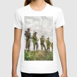 Standing Guard, World War Two T-shirt