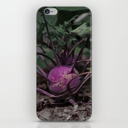 Kohlrabi. iPhone Skin