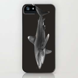 Oceanic Whitetip Shark 2 iPhone Case