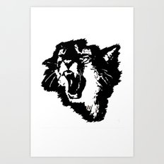 rattatat cat Art Print