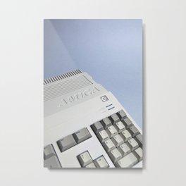 Commodore Amiga A500 Metal Print
