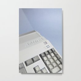 Commodore Amiga A500 Metal Print