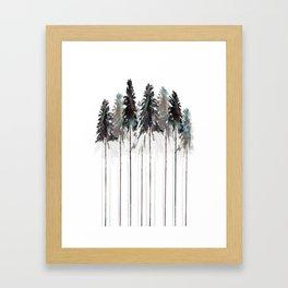 Siberian Forest 3.0 Framed Art Print
