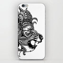 Tangled Lion iPhone Skin
