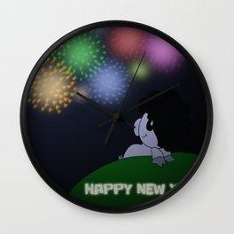 NYE 2014 Wall Clock