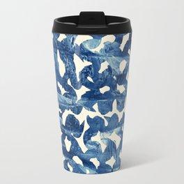 Indigo love Travel Mug