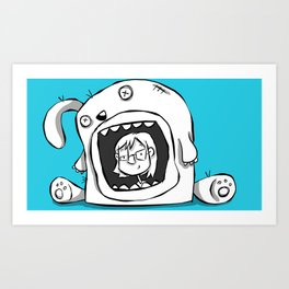 House Bunny Art Print