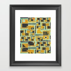 Levels Framed Art Print